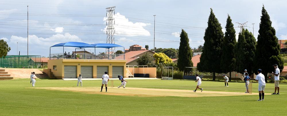 Cricket at Marist Brothers Linmyer
