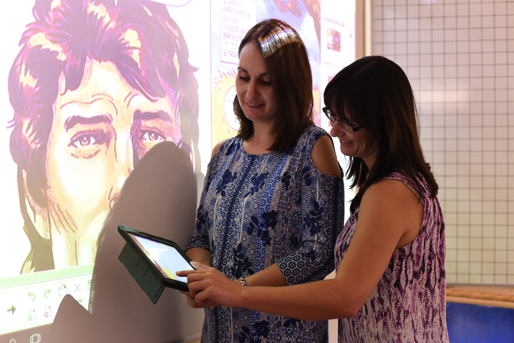 A dynamic curriculum is taught by an enthusiastic, dedicated team of educators using interactive whiteboards and iPads