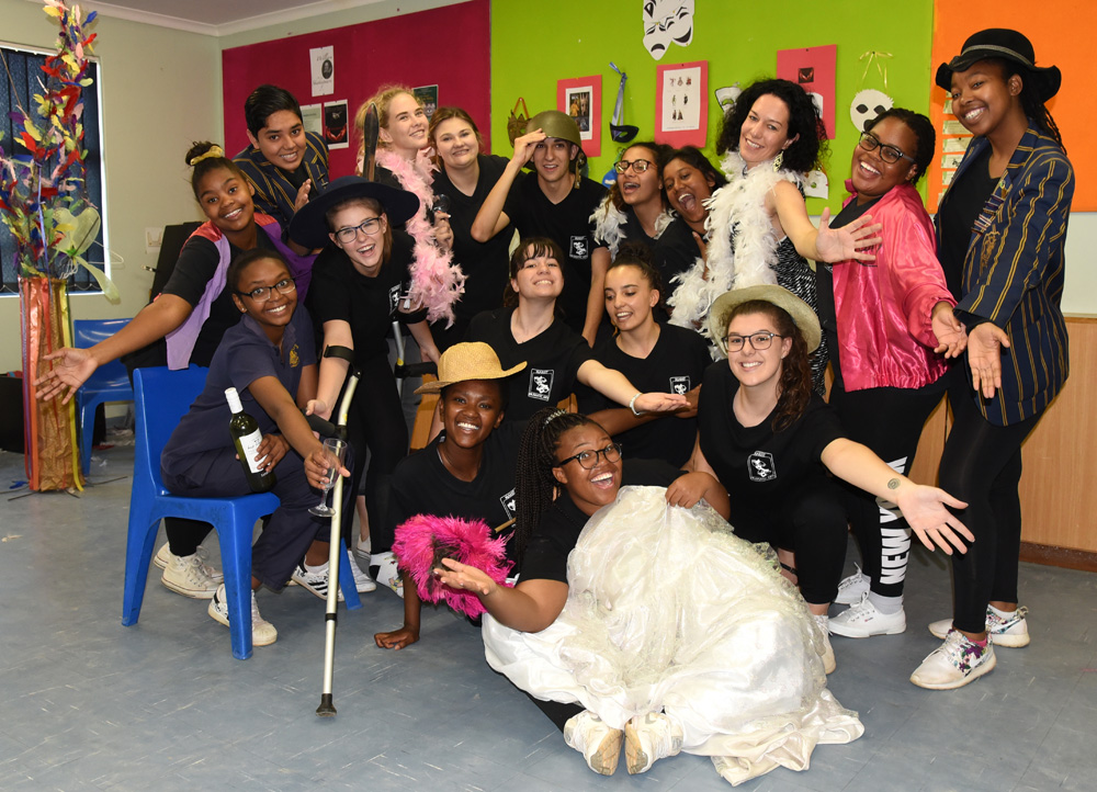 We have an outstanding annual Drama production as well as other Drama events during the year