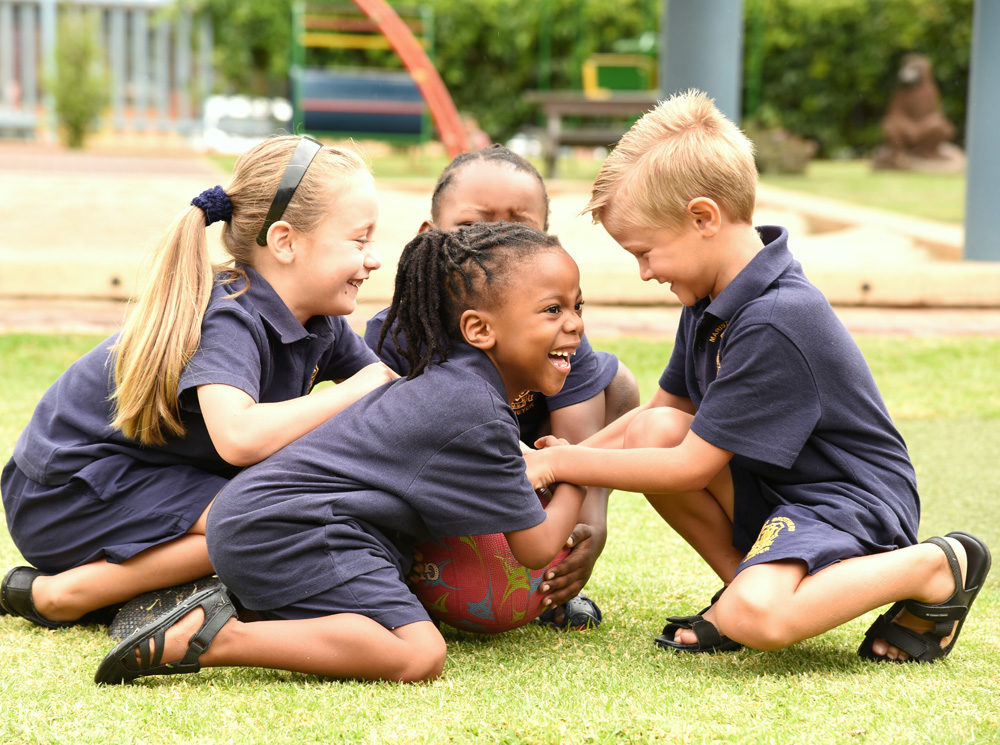 Pre-School sports encourage fun and team work