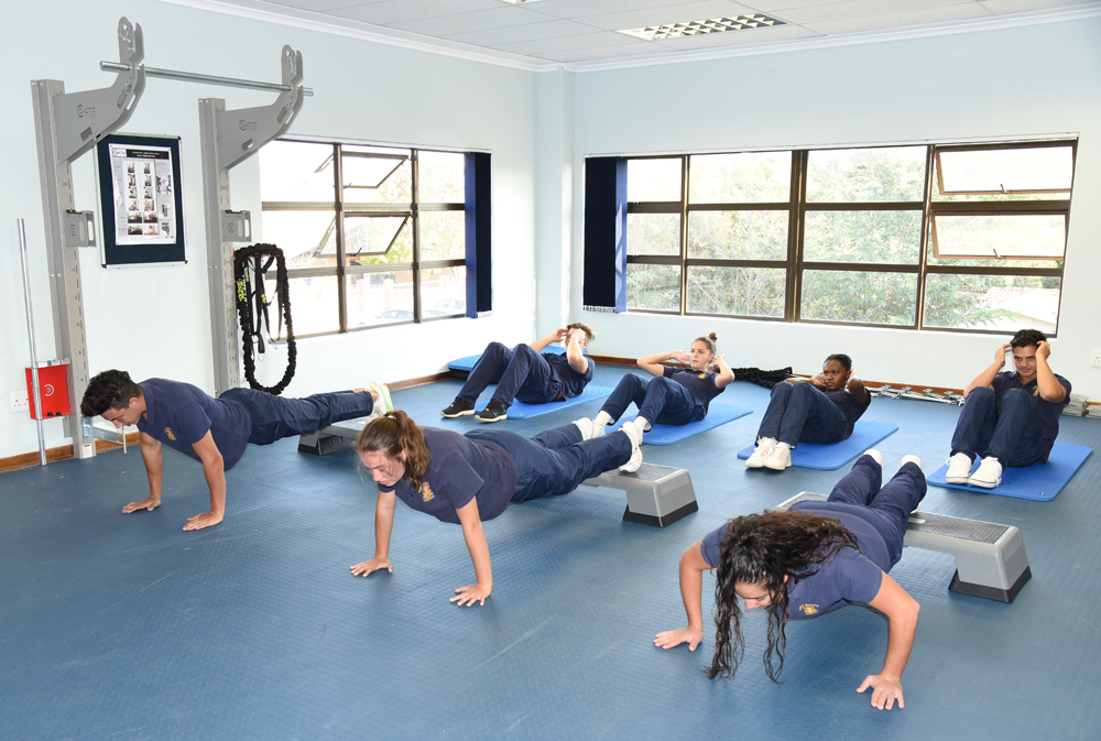 Group exercise in CACTIC Gym