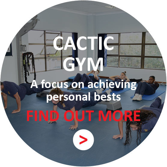 CACTIC GYM - A focus on achieving personal bests