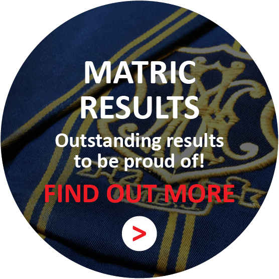 MATRIC RESULTS - Outstanding results to be proud of!