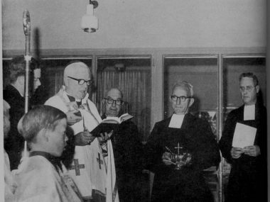 1966: Blessing of school